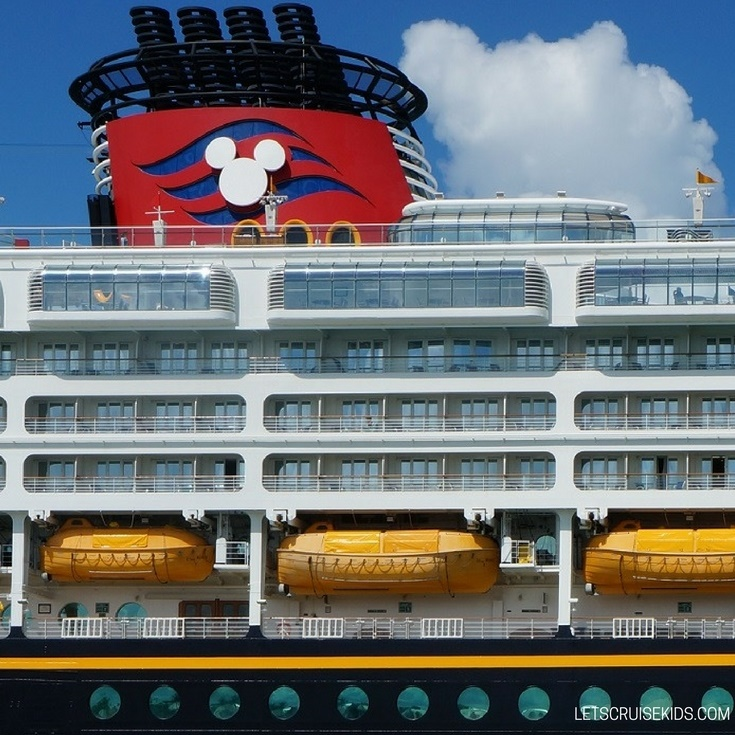 DCL Cruise Ship Up Close