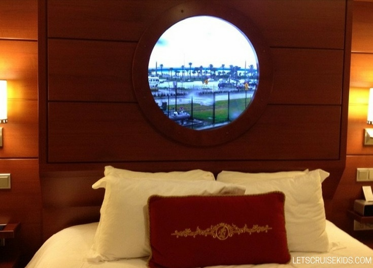 Disney Dream Inside Cabin with Magical Porthole