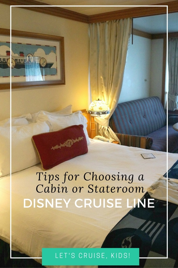 Tips for choosing a cabin or stateroom Disney Cruise Line