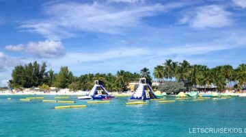 Blue Island Lagoon Water Park - Beach Day in Nassau Bahamas