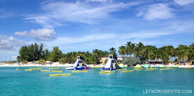 Blue Island Lagoon Water Park - Beach Day in Nassau Bahamas