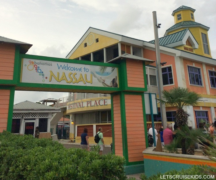 Nassau Bahamas with Kids Port Guide - Festival Place Cruise Ship Dock