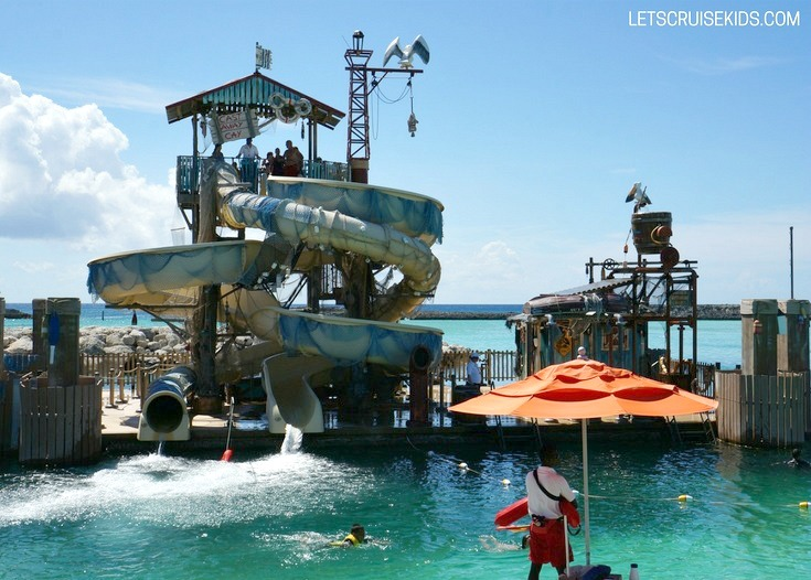 Pelican Plunge Water Playground - Disney's Castaway Cay Bahamas