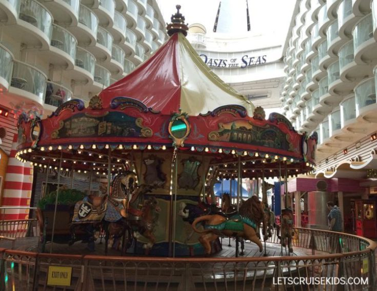 Royal Caribbean carousel Oasis of the Seas