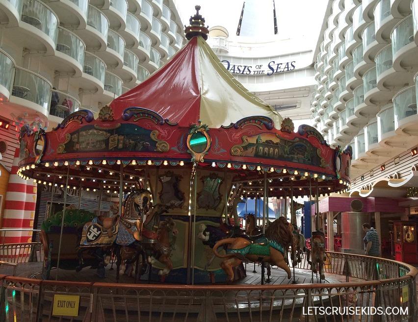 Royal Caribbean carousel Oasis of the Seas