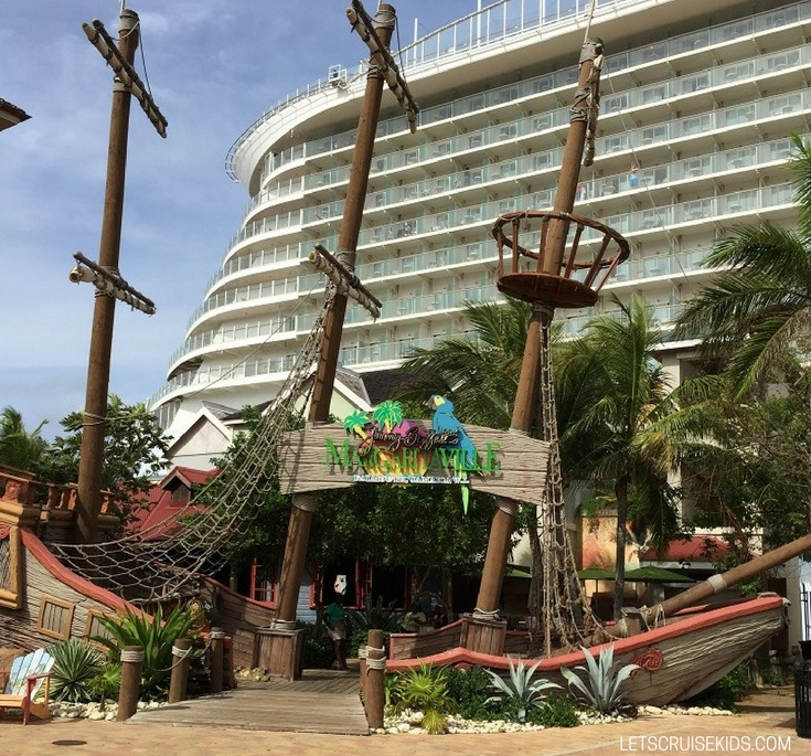 Cruise Port Guide - Enjoy Falmouth Jamaica with kids without leaving the port - Margaritaville Falmouth