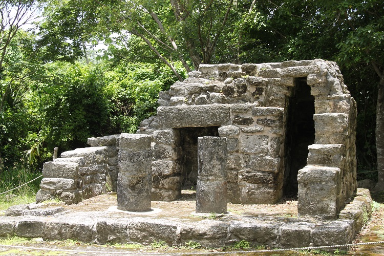 Kid Friendly Attractions for Cruisers - Cozumel Mexico San Gervaiso Ruins