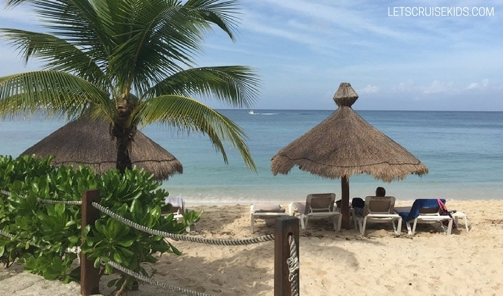 Kid Friendly Beaches and Beach Clubs for Cruisers in Cozumel Mexico