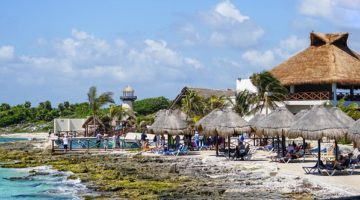 Kid Friendly Beaches and Beach Clubs for Families Cruising to Cozumel Mexico