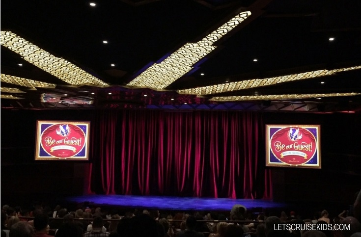 Why cruise with Disney - nightly Broadway style shows